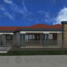 6 Bedroom House Plans – My Building Plans South Africa My Building, Building Plans, Architect Fees, 6 Bedroom House Plans, House Plans South Africa, Home Design Floor Plans, Bedroom Bed Design, Double Garage, Open Plan