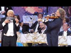 André Rieu and Gheorghe Zamfir - THE LONELY SHEPHERD - Live 2015, Bucharest