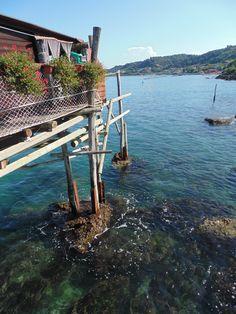 Trabocco Punta Cavalluccio - Foto scattata da Chiara Battista con DSC-H200