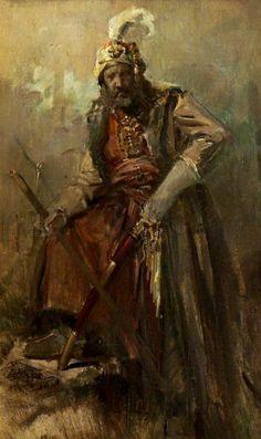.:. Γύζης Νικόλαος – Gyzis Nikolaos [1842-1901] Oriental Warrior