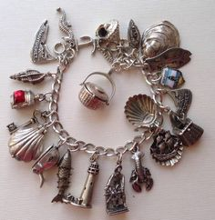 eCharmony Charm Bracelet Collection - Nantucket, MA Charms - Click Image to Close