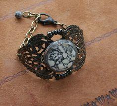 envergure  terrazzo cuff bracelet - victorian gypsy