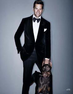 Tom Brady for VMAN 27