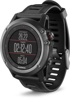 Garmin Fenix 3 (gray). An awesome multisport GPS watch. Still waiting to see if this Garmin would be a better backpacking companion than the inevitable Apple Watch.