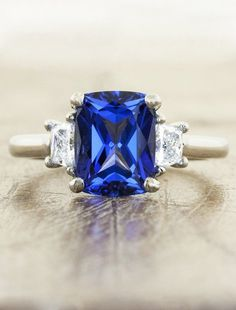 15 Beautiful Engagement Rings That Are The Very Best 'Something Blue'