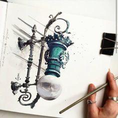 Ver esta foto do Instagram de @watercolor.illustrations • 4,458 curtidas