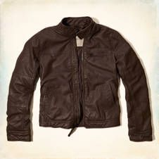 Rocky Point Faux Leather Moto Jacket