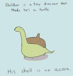 little dinosaur (: