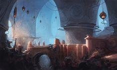 ArtStation - Dungeons, Alejandro Burdisio