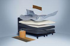 Inspiration für's Schlafzimmer: Auping Plaza im stilwerk Berlin Social Media Design, Bookends, Mattress, Furniture, Home Decor, Berlin, Base, Marketing, Poster