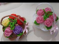 Crochet Tote, Free Crochet, Barbie Dress, Flower Basket, Crochet For Beginners, Crochet Flowers, Crochet Projects, Crochet Earrings, Projects To Try