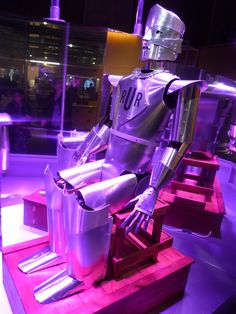 Eric the robot at the 'Robots' exhibition, Science Museum, London. Picture by goRedRobot Science Museum, Outer Space, Robots, London, World, Pictures, Interiors, The World, Robotics