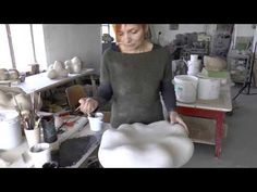 Monika Debus: Eigenzinnige sculpturen - Wayward sculptures - YouTube