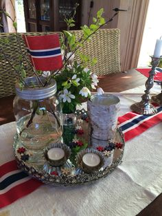 17.mai My Heritage, Food Pictures, Home And Living, Norway, Table Decorations, Jeans, Tips, Crafts, Inspiration