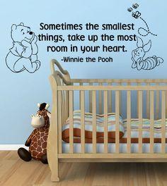 Winnie the Pooh nursery wall sticker
