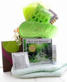 Rest and Renew Post Surgery Get Well Gift. Send them a wonderful Spa Get Well Gift Basket that will rejuvenate the body, mind and the senses. Renew makes a great after surgery gift or get well gift for women.
