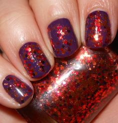 Imperfectly Painted: Way-Cool Mani Wednesday: Autumn Leaves