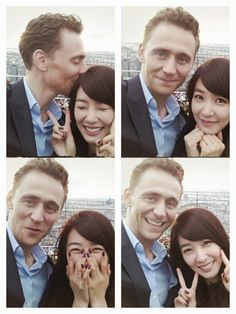 Girls' Generation Tiffany getting close with 'Thor/Avengers' actor, Tom Hiddleston! Who do you thinks luckier PopAsians?