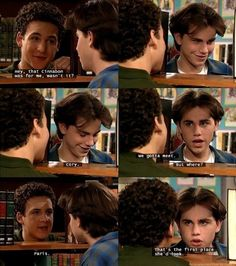 "When he felt sheepish about leaving Cory a Cinnabon. | Community Post: 37 Times Shawn Hunter From ""Boy Meets World"" Was A Total Dreamboat"