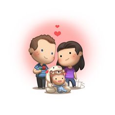 Here you'll find the commission artworks that was drawn for some of the many awesome couples and supporter of HJ-Story! Check out more commissions at the commission page! Hj Story, Cute Couple Cartoon, Cute Love Cartoons, Chibi Couple, Cute Love Stories, Love Story, Love Is, True Love, Anime Chibi