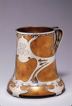 Attributed to Thomas G. Brown and Sons (1881–ca. 1915) 1900–1915 Zoom In Zoom Out Reset Tankard Attributed to Thomas G. Brown and Sons (1881–ca. 1915) Download image
