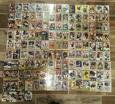 Football Card Lot San Diego Chargers 139 Cards No Duplicates #SanDiegoChargers