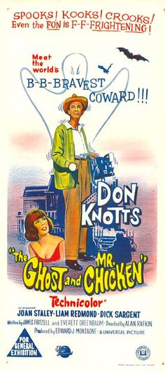 The Ghost and Mr. Chicken (1966) via Australia