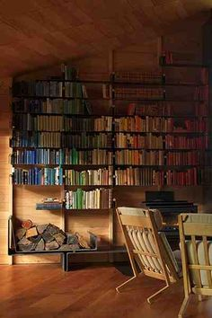 All I want when I buy a house is a library!