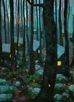 KENNETH CALLICUTT. Nel bosco.