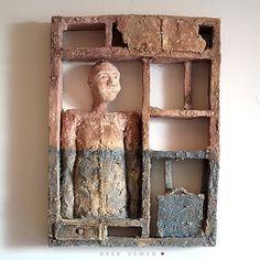 rzeźba ceramiczna, Mój dom, potem podróż - Ceramika artystyczna|rzeźba ceramiczna|ceramiczne prace Arek Szwed