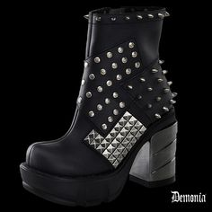 "Bottines Demonia ""SINISTER-64"""