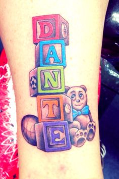 Baby Name Tattoo