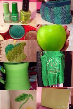Grön ( blandfärg )