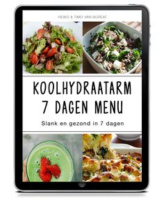 OPTIN: KHA weggever - bgreat.nl v1 19-06-19 Healthy Weight, Healthy Food, Food Hacks, Paleo Recipes, Potato Salad, Herbalism, Food And Drink, Health Fitness, Low Carb