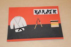 Karate birthday card