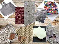 Materiaalgebruik in je interieur is heel bepalend voor de sfeer. Ruwe materialen kunnen goed gecombineerd worden met elkaar en geven hierdoor een warme uitstraling! In het overzicht zie je o.a. Vilt, beton, hennep, ruwe katoen, oud hout, bewerkt leer, kalk en een ruwe meubelstof.