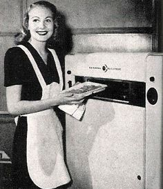 "In 1945 Percy Lebaron Spencer, an American engineer and inventor, ""accidentally"" invented the microwave oven. The first one weighed 750 lbs and was the size of a refrigerator."