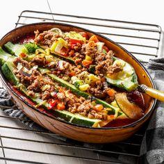 Recept week 44: Italiaanse courgettes met basilicumgehakt