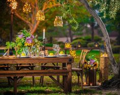 Bloomingbelles Rentals provides handmade farmhouse tables, benches and chairs. They also provide florals to make any event in Las Vegas be one to remember Las Vegas Weddings, Twinkle Lights, Floral Centerpieces, Farmhouse Table, Artichoke, Benches, Florals, Things To Think About, Tables