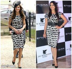 kate middleton black dress britain   actress