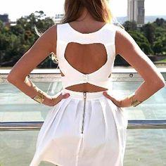I love dresses with cute backs
