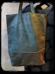 JDK Shopping bag genuine leather made in Italy