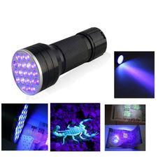 21 LED Ultraviyole El Feneri