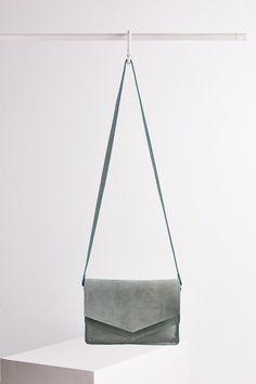 BDG Double Flap Crossbody Bag