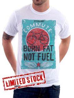 Burn Fat Not Fuel Tshirt from Cycology Gear-1.jpg
