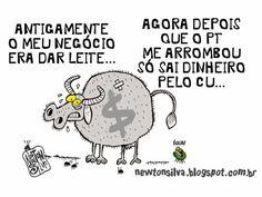 Chargista Cearense Newton Silva: VACA ARROMBADA