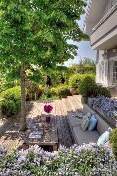 Outdoor Spaces, Outdoor Living, Outdoor Decor, Hydrangea Care, Home Grown Vegetables, Pallet House, Backyard, Patio, Garden Cottage
