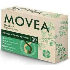 Movea Galena x 20 capsules, prevent constipation Digestive System Function, Packaging Design, Branding Design, Remedies For Nausea, Medicine Packaging, Digestion Process, Peppermint Leaves, Box Design, Crates