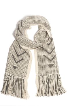 Ivory Holiday Scarf