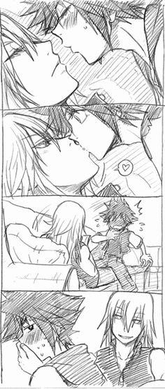 XD Surprise kiss! Chu~ X3